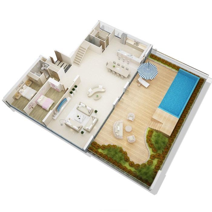 Căn hộ chung cư dự án mỹ đình pearl penthouse 1